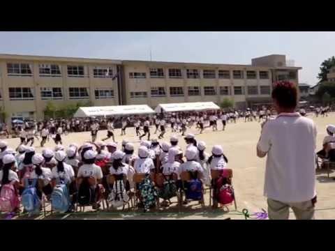 姪北小学校 運動会 ?島唄