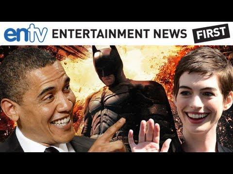 President Obama Praises Dark Knight Rises & Anne Hathaway At Fundraiser: ENTV