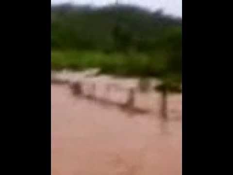 Enchente em franciscopolis
