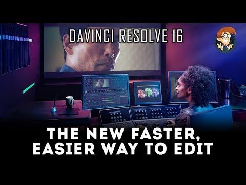 The new Cut Panel - DaVinci Resolve 16
