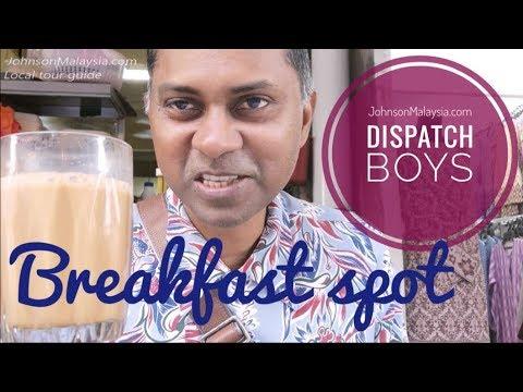 Dispatch Boys Breakfast Spot in Best Kuala Lumpur Malaysia Food