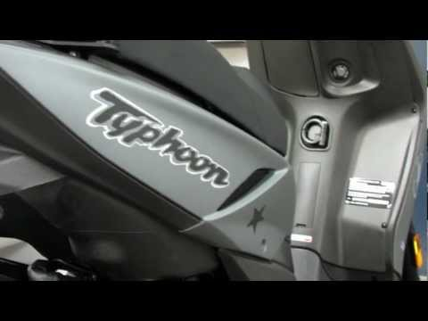 Overview 2012 Piaggio Typhoon 125