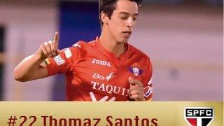 Thomaz Santos acaba de ser contratado pelo São Paulo Futebol Clube. O camisa 10, craque do Jorge Wisterman, agora defenderá as cores do Tricolor do ...
