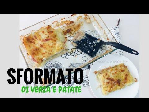 sformato verza e patate - ricetta