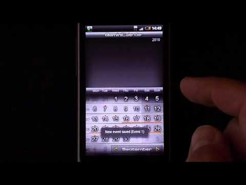 Video of Gemini Calendar