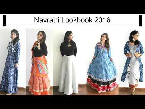 Navratri LookBook 2016- Outfit ideas for festive season!