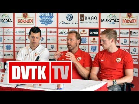 Kezdődik a Visegrád Kupa | 2017. augusztus 21. | DVTK TV