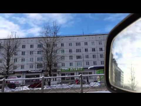 ЗИМНЕЕ УТРО В КИРИШАХ!=) (видео)