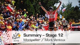 Video Summary - Stage 12 (Montpellier / Mont Ventoux) - Tour de France 2016 MP3, 3GP, MP4, WEBM, AVI, FLV November 2017
