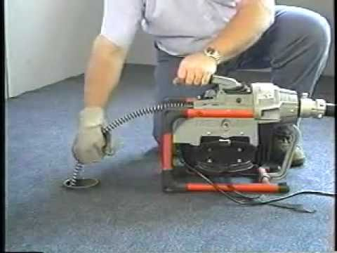 Ridgid K-60 Sectional Drain Cleaning Machine