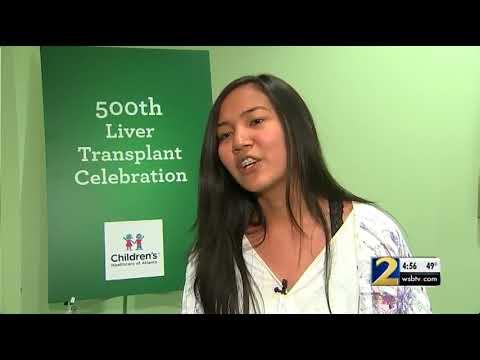 Children's Healthcare of Atlanta celebrates its 500th liver transplant