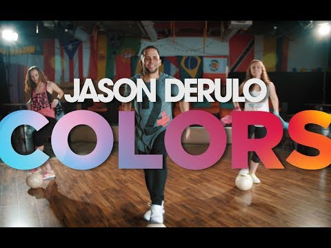 Jason Derulo - Colors (OFFICIAL DANCE CHOREOGRAPHY)