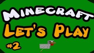"""Minecraft -- Let's Play w/ LittleLizard -- Episode 2 """"Swim for your life!"""""""