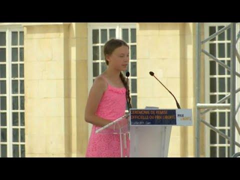 Γαλλία: Αντιδράσεις στην Εθνοσυνέλευση για την Γκρέτα