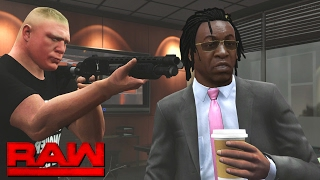 Nonton Wwe Raw 2k17 Story   Brock Lesnar Intimidates The Gm        02 06 17  Wwe Gta Mods  Film Subtitle Indonesia Streaming Movie Download
