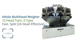 Ishida Multihead Weigher - Z-Type | 12 Head | High Speed | Twin / Split