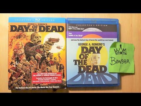 Unboxing |El Dia De Los Muertos| Blu Ray Slip Cover