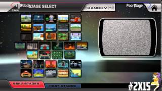 Streaming the X Annual 2015, a SSF2 Major!