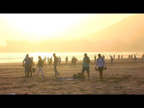أكادير .. متعة الإفطار على الشاطئ خلال شهر رمضان