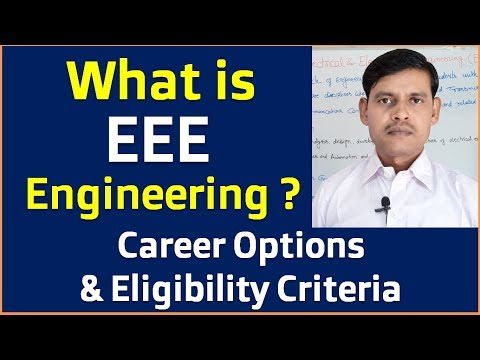 What is EEE (Electrical Electronics Engineering) in Hindi? || Career Options after BE/Btech in EEE