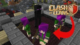 Video Monster School: Attacking Clash Of Clan Village - Minecraft Animation MP3, 3GP, MP4, WEBM, AVI, FLV Agustus 2017