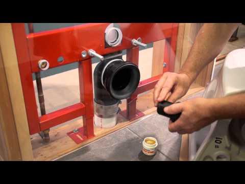 Aquia® Wall-Hung Toilet u0026 DUOFIT In-Wall Tank System, 1.6 GPF u0026 0.9 GPF,  Elongated Bowl