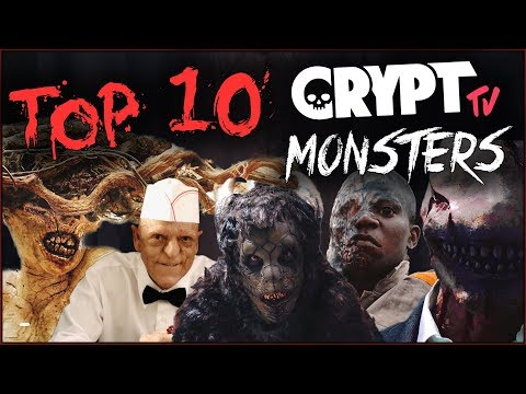 Top 10 Crypt TV Monsters RANKED!