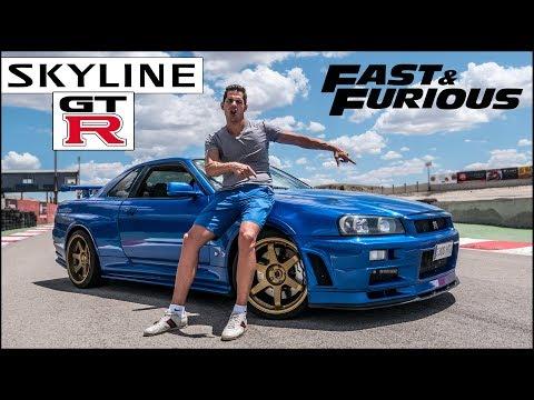 ¡¡ A TODO GAS CON MI NISSAN SKYLINE GTR R34 EN CIRCUITO !!  Supercars of Mike