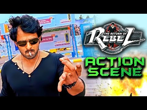 The Return of Rebel (Rebel) Best Fight Scene   South Indian Hindi Dubbed Best Action Scenes