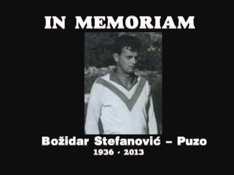 IN MEMORIAM-Божидар Стефановић Пузо