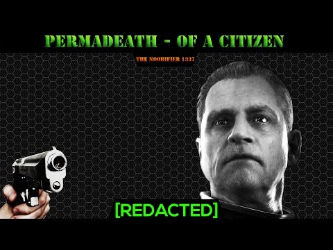 Perma Death - The life and Death of a Citizen