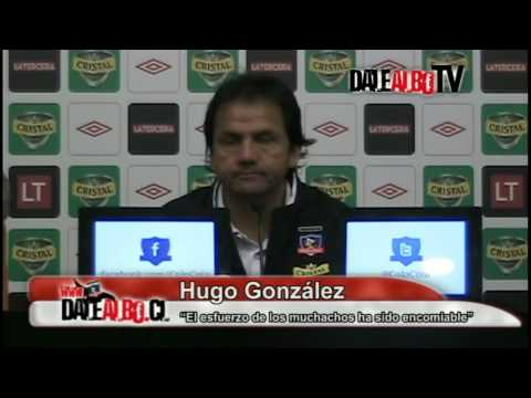 Gonzlez: No queremos estar en la historia negra de Colo Colo