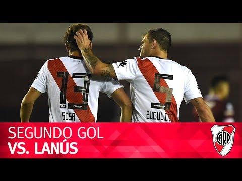 Segundo gol vs. Lanús