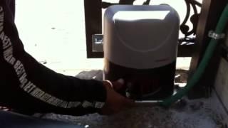 סרטון הדרכה לתפעול מנוע נגרר