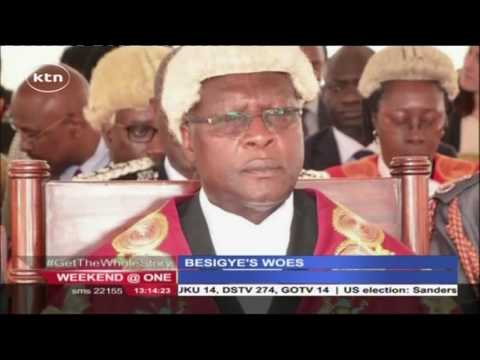 KTN Weekend at One full bulletin 25th June 2016
