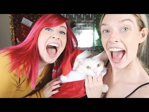TESTING ADORABLE CAT COSTUMES!!! (видео)