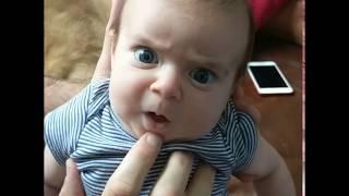 """""""Mamo, dlaczego tata mi to robi?"""" Gadający niemowlak który wie jak zaskoczyć mamę!"""