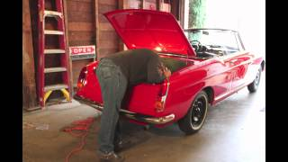 Chris Hawkins 1966 404 Cab Rebuild in CA- Video!