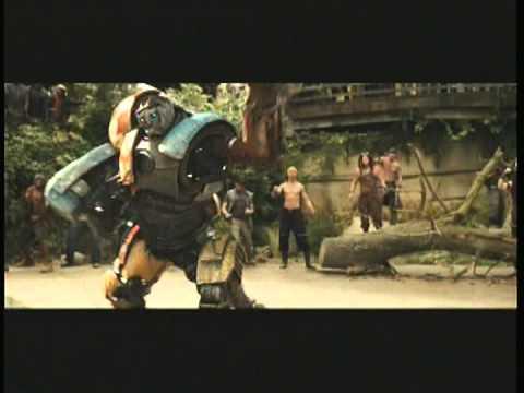 real steel movie Atom vs Metro