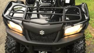 9. Brand new 2014 Suzuki Kingquad 750 AXI power steering