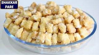 Watch More: https://goo.gl/Kep2iS Today we'll learn how to make Shakarpara. Shakarpara is sweet crunchy snack which is made in festivals like holi and diwali...