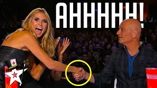 Video Howie Mandel Gets Hypnotised on America's Got Talent | Magicians Got Talent MP3, 3GP, MP4, WEBM, AVI, FLV Maret 2019