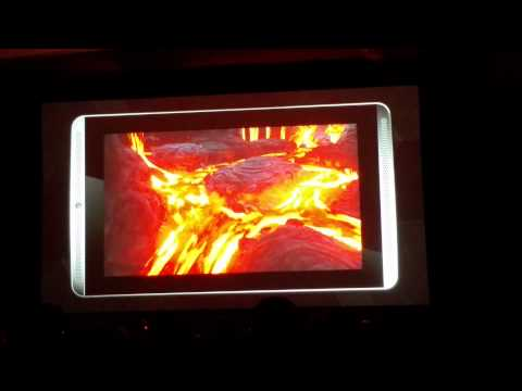 nVidia Tegra X1 playing Unreal Engine 4 Elemental Demo CES 2015