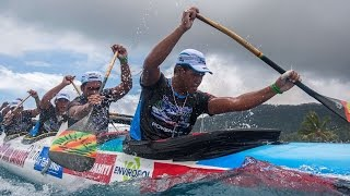 Canoe designer and championship coach, John Puakea teaches us the Tahitian paddling technique that Shell Va'a is using to dominate the canoe races.