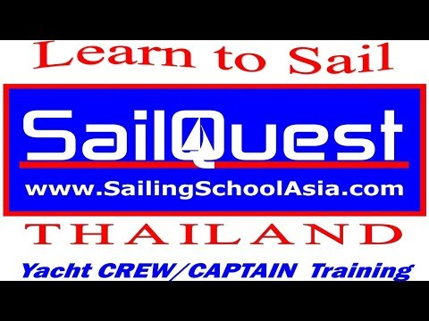 Learn to Sail w SailQuest Sailing School Pattaya Thailand