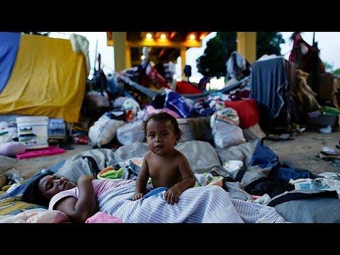 Προσφυγικός καταυλισμός στον Αμαζόνιο