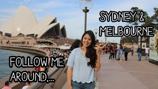 Sydney Australia  city photos gallery : Travel Vlog: Follow me around to Sydney & Melbourne, Australia!