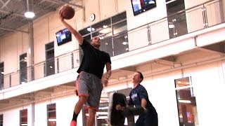 Stephen Curry training with Accelerate Basketball