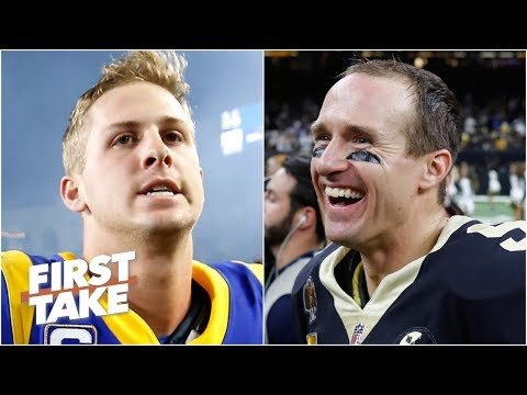 Video: The Saints will win the NFC over the Rams because Jared Goff will choke - Max Kellerman | First Take