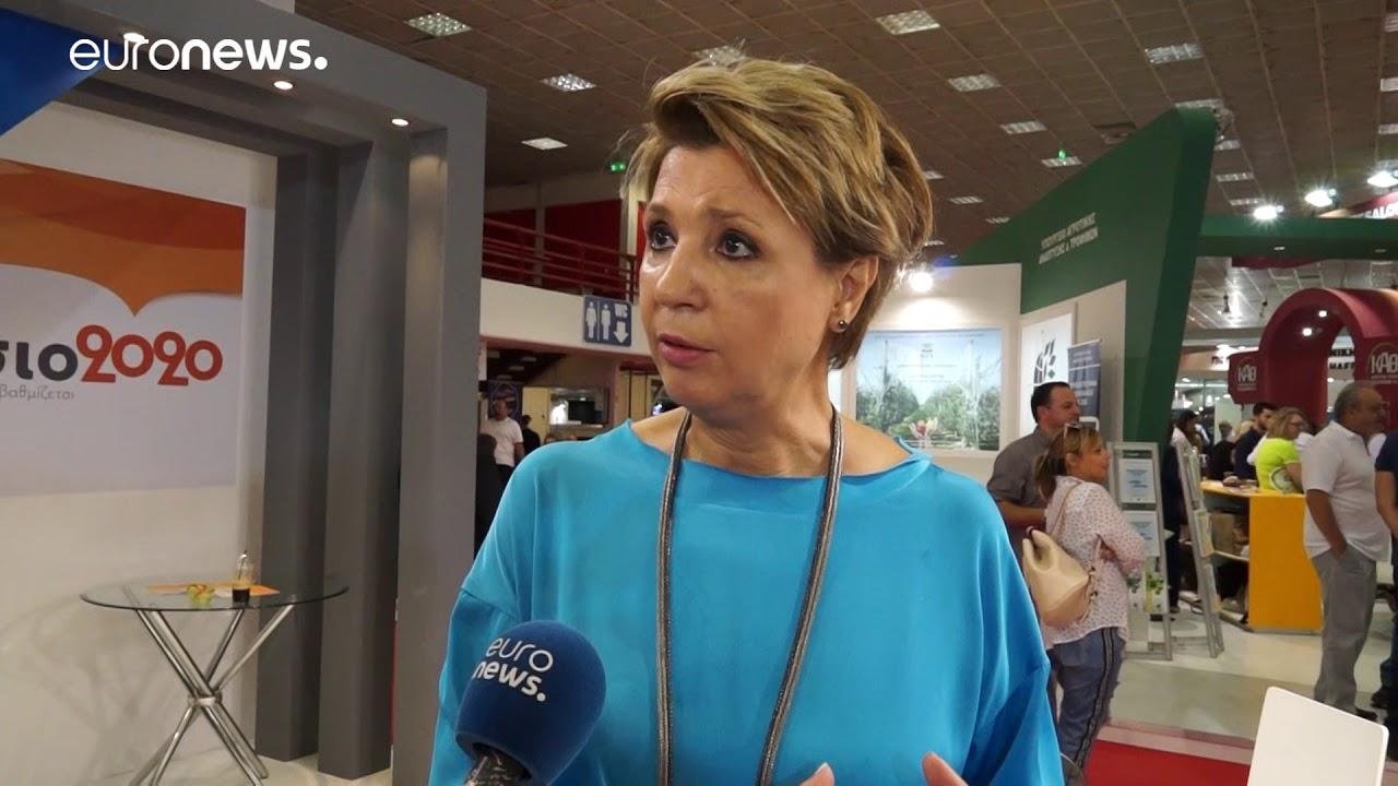 Η Όλγα Γεροβασίλη στο euronews